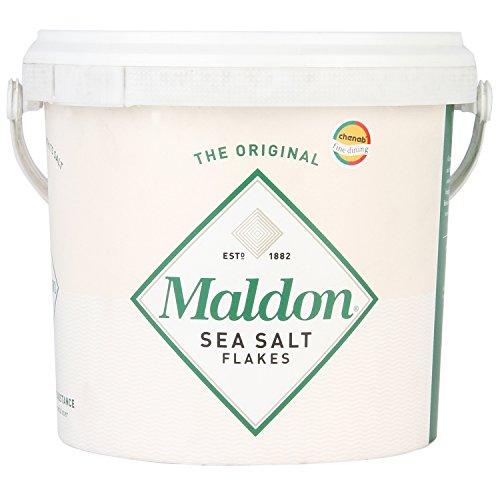 Salt Traders Flocken von Meersalz aus Maldon