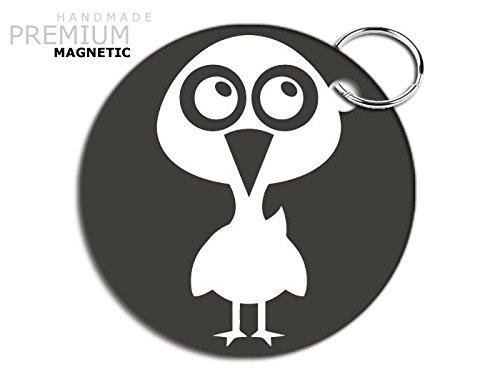 jcm-adorable-goose-magnetic-keyring-grey