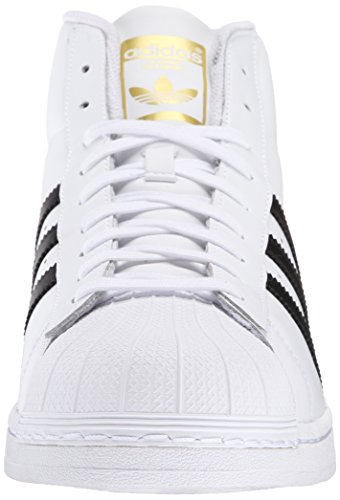 Adidas Pro Model Mens Style: S85956-wht / blk Taille: 5.5 M Us Blanc