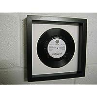 "Metallica - Nothing Else Matters - Wall Framed 7"" Vinyl Record"