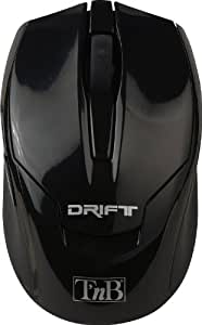 T'nB Drift Souris laser sans fil 2,4 GHz Noir