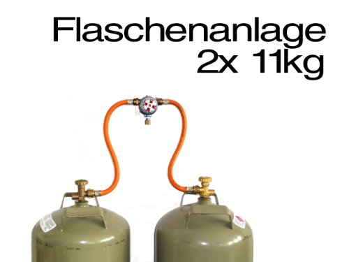 TGO Zweiflaschenanlage Multimatic 50mbar Camping Umschaltanlage Gasdruckregler Reisemobil Gasanlage -
