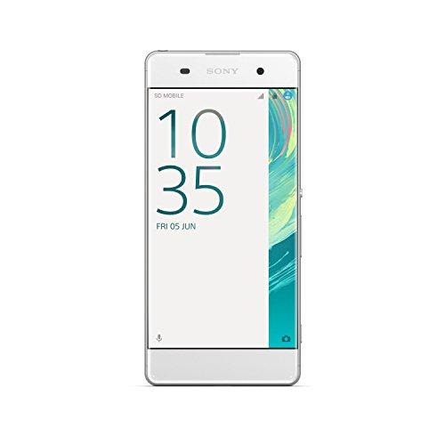 Sony F3111WHT Xperia XA Smartphone da 16 GB, LTE 4G, Display FHD, 1280x720 pixel, Fotocamera 13 MP, Bianco [Italia]