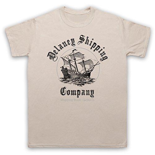 Taboo Delaney Shipping Company Herren T-Shirt Beige