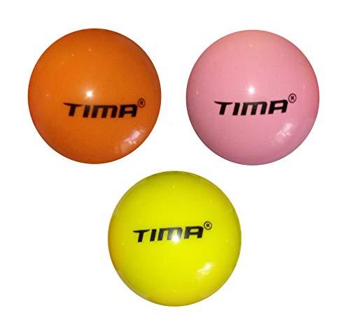 Tima Set of 12 Cricket Wind Balls Hard Practice Beach Indoor Outdoor Petballs