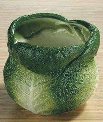 Summit Savoy Kohl Utensilienhalter Collectible Gemüse Keramik Glas