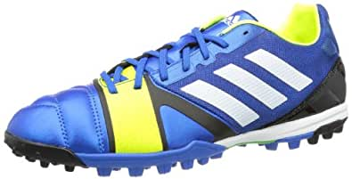 adidas nitrocharge 2.0 TRX TF, Chaussures de football homme, Bleu - Blau (Blue Beauty F10 / Running White Ftw / Electricity), 39.333333333333336