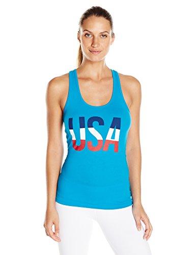 Speedo Damen Weiblich USA Tank Top, Herren, türkis (Hose-anzug Jessica)