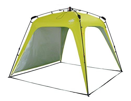 Lumaland Outdoor Pop Up Pavillon Gartenzelt Camping Partyzelt Zelt robust wasserdicht Grün