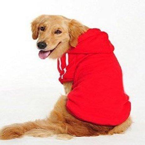 Namsan perros medianos y grandes perros Deportes Sudaderas con capucha, Jersey De...