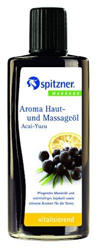 Aroma Haut- und Massageöl Acai-Yuzu 190 ml