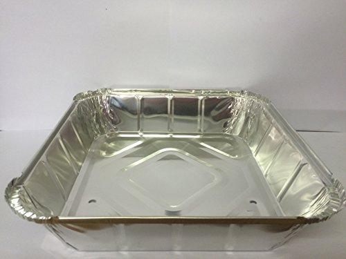 Foil Containers 127 x 22,9 cm X 22,9 x 5,1 cm Deep barquettes (gratuit P & P sur tous les produits)
