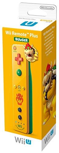 Nintendo Wii U und Wii - Remote Plus, gelbes Bowser Design