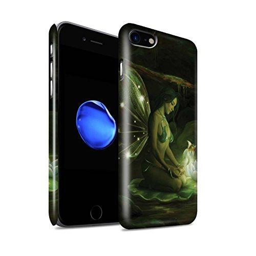 Offiziell Elena Dudina Hülle / Glanz Snap-On Case für Apple iPhone X/10 / Fee von das Land Muster / Elegante Feen Kollektion Magisch Teich