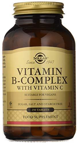 Solgar, Vitamin B-Complex with Vitamin C Tablettes, 250 -