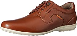 Red Chief Mens Tan Leather Formal Shoes - 7 UK/India (40.5 EU)(RC1329A)