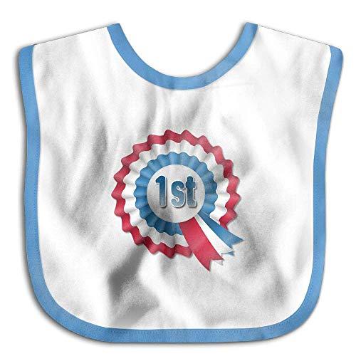 Award Ribbon Funny Baby Bibs Burp Infant Drool Toddler Absorbent Bibs