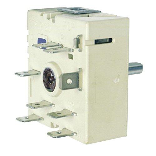 spares2go Single Energieregler Thermostat/simmerstat Schalter Einheit für Arthur Martin Ofen Herd Herd (50.57071.010) - Martin Single