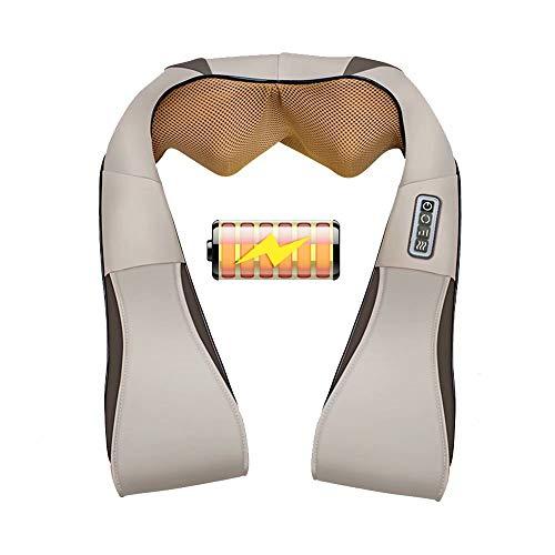 Massaggio per spalle massaggiatore per spalle massaggio elettrico con funzione di calore e temporizzazione panno antipolvere per tessuti profondi protegge la casa degli uffici