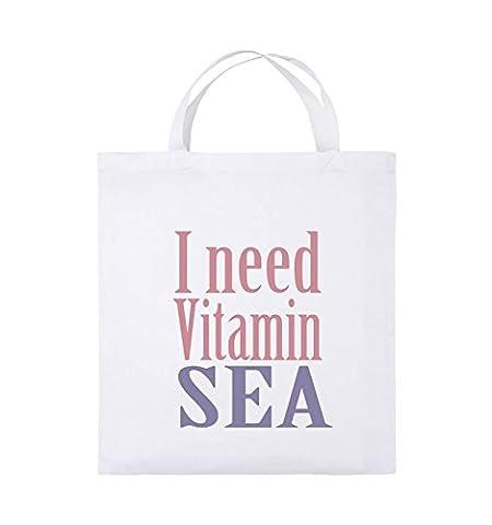 Comedy Bags - I need vitamin sea - Jutebeutel -