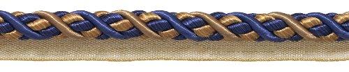 NAVY Large taupe Barock Collection 7/40,6cm Cord mit Lippe Stil # 0716bl Farbe: navy taupe-5817(Verkauft von der Hof) -