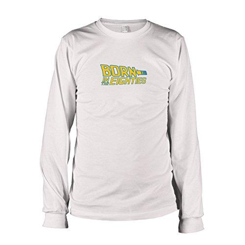 TEXLAB - Born in the 80s - Langarm T-Shirt, Herren, Größe XXL, ()