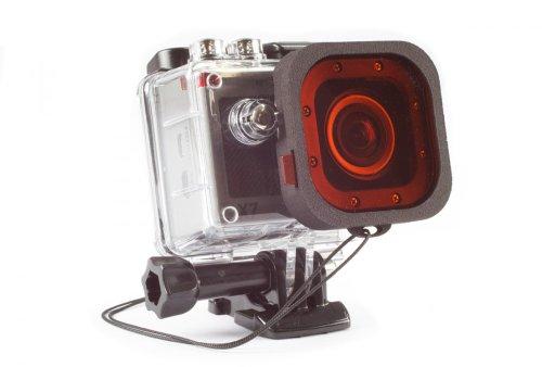 Actionpro X7 (NICHT für X7neo) Rotfilter & Magentafilter Snap-On Tauchfilterset