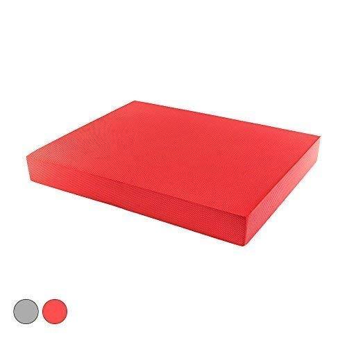 PROTONE Balance pad - Mobilitäts, Stabilität, Rehab, Reaction, Physiotherapie Matte - Rot, 48cm x 40cm x 6cm
