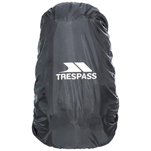 Trespass Rain, Black, Regenhülle für Rucksäcke, Medium, Schwarz (Rucksack Abdeckung Für Flugreisen)