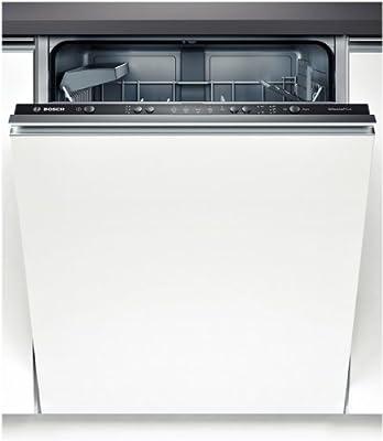 Bosch SMV51E40EU lavavajilla - Lavavajillas (Totalmente integrado, Color blanco, Botones, 48 Db, 195 min, 9h)