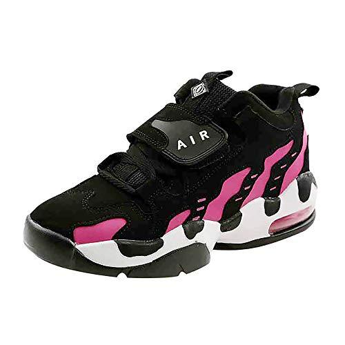 OSYARD Chaussures de Course Running Compétition Sport Trail Jogging Entraînement Femme Cinq Couleurs Basket(Rose,38 EU)