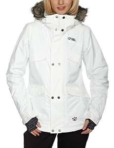 O'Neill Damen Jacke PW ESCAPE SERAPHINE, Powder Whi, XL, 155060-1030-XL