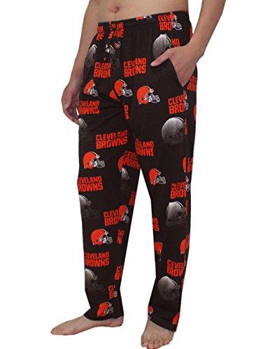 Cowboys Dallas Robe (NFL Cleveland Brauns Herren Herbst / Winter Nachtwäsche / Pyjama Hose M)