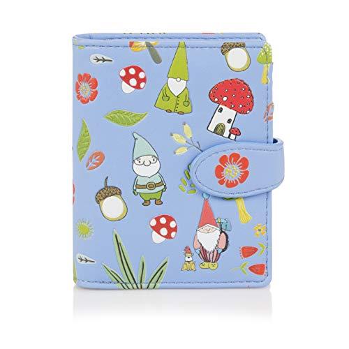 e Geldbörse für Junge Damen, Mädchen Geldbeutel Portmonaise Designs: (GNOME Blu) ()