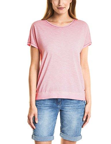 Cecil Damen T-Shirt 312224, Pink (Soft Blossom 11216), XX-Large