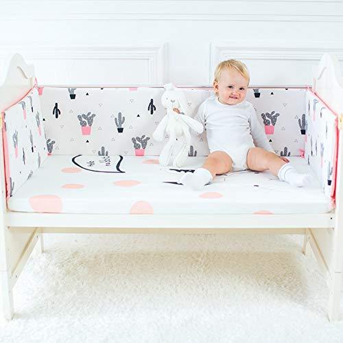 Keil Stützkissen (DDLL Keil- & Stützkissen Krippe Zaun Stoßstange Baby Bett Baby Kinder Kissen Infant Baumwolle Kissen Kinderzimmer Dekoration Spielzeug)