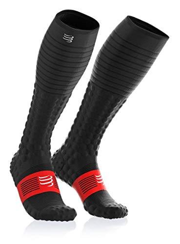 Photo Gallery webinero compressport full socks race & recovery calzini lunghi da corsa calzini unisex compressione competizione, bianco, 3 m