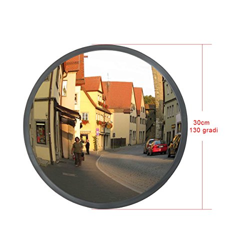 ZNL Specchio convesso di sicurezza 30cm, specchio panoramico stradale CGJJ01