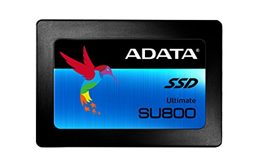 ADATA SU800 512GB 3D-NAND 2,5 Zoll SATA III High Speed Solid State Drive mit Lesen & Schreiben bis zu 560MB/s & 520MB/s (ASU800SS-512GT-C) (Sata-ssd 512 Gb)