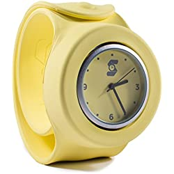 Original Yellow Slappie Slap Watch (BBC Dragons Den Winner) Adults/Kids Size Large