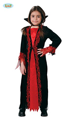 KINDERKOSTÜM - VAMPIRIN - Größe 142-148 cm ( 10-12 Jahre ), Märchen Vampire Graf Dracula Blutsauger (Kostüme Fledermaus Märchen)