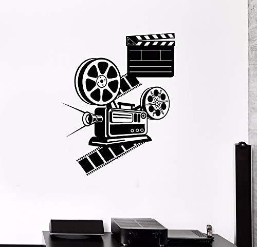 42X53 CM Liebhaber Film Raumdekoration Kino Raum Film Wandaufkleber Vinyl Kunst Poster Poster Schönheitsdekoration
