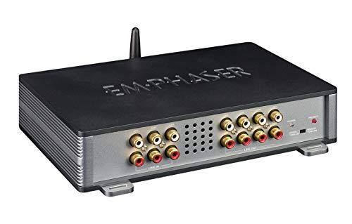 EMPHASER EA-D800 Digit-Line 8-Kanal DSP-Verstärker mit Bluetooth Audio Streaming und Android oder iOS Smartphone Steuerung