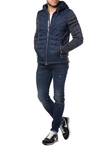 Superdry Herren Pullover Blau
