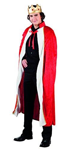 Der Herz König Kostüm Zubehör - Boland 83580 Karnevalskostüm, schwarz,