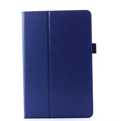 GOGODOG LG G PAD 10.1 Hülle Ultra dünn Stoßstange Ganzkörper Schutz Leder 10.1 Zoll Halterung Schutzhülle Tablet Halter Shell Protector LG V700 (Dunkelblau)