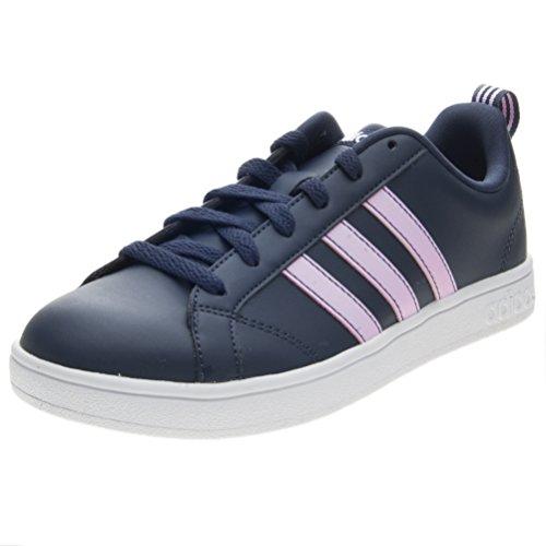 Adidas vs advantage, scarpe da fitness donna, blu (azul 000), 37 1/3 eu
