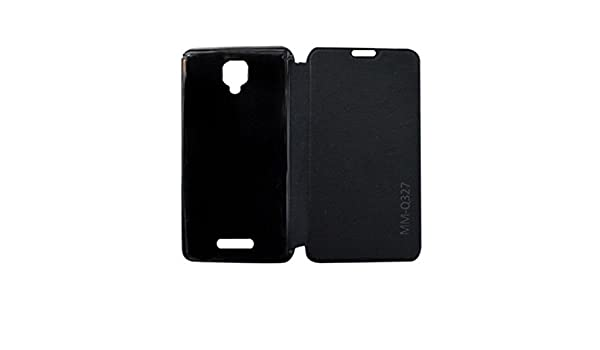 finest selection df209 dae8d Micromax Bolt Q327 Flip Cover Case - Black: Amazon.in: Electronics