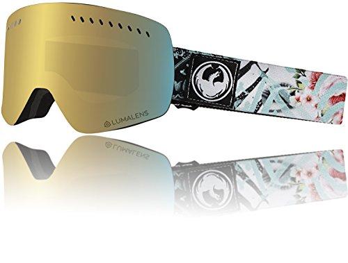 Drachen NFXs Flaunt lumalens Gold-Ion + Dunklen Rauch 28636-101 Snow Goggles
