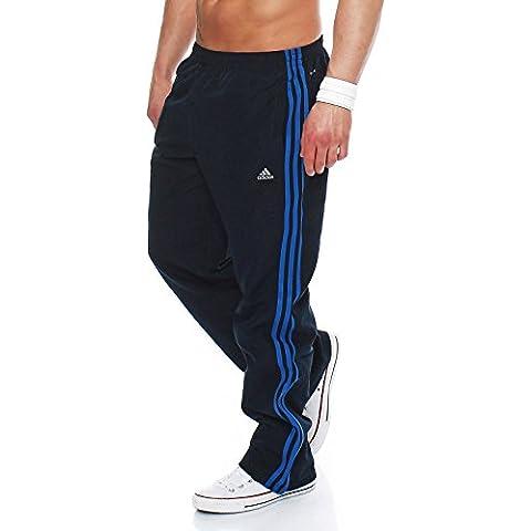 Adidas Hombre Pantalones Chándal Essentials, E14904 - XXL, Azul Oscuro/Azul